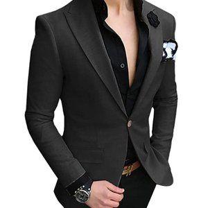 Other - Mens Suit 2 Piece Slim Fit Notch Lapel Tuxedos